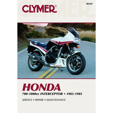 700-1000cc Interceptor 83-85 Revue technique Clymer HONDA Anglais