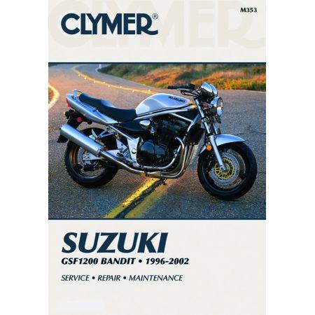 GSF1200 Bandit 96-03 Revue technique Clymer SUZUKI Anglais