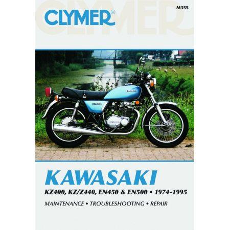 KZ400-Z440 EN450-500 74-95 Revue technique Clymer KAWASAKI Anglais