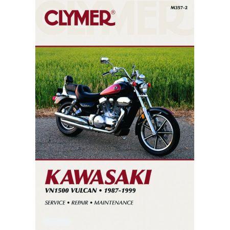 VN 1500 87-99 Revue technique Clymer KAWASAKI Anglais