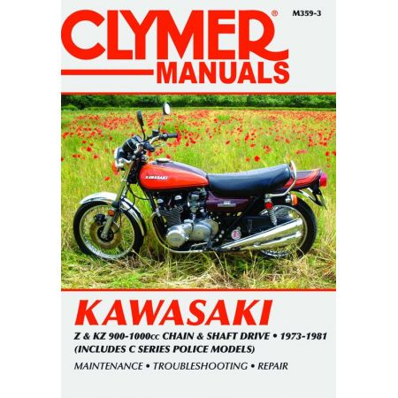 Z - KZ 900-1000 cc 73-81 Revue technique Clymer KAWASAKI Anglais