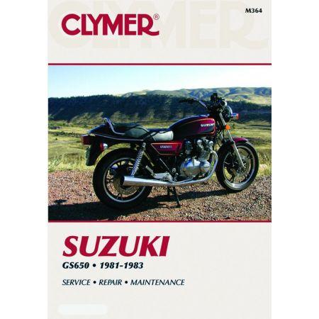 GS650 Fours 81-83 Revue technique Clymer SUZUKI Anglais