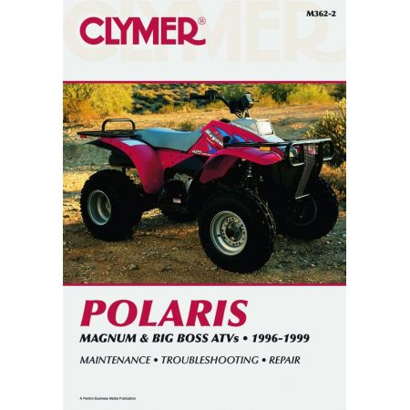 Magnum and Big Boss 96-99 Revue technique Clymer POLARIS Anglais