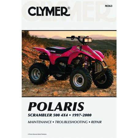 Scrambler 500 ATV 97-00 Revue technique Clymer POLARIS Anglais
