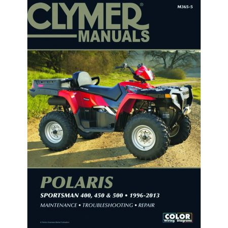 Sportsman 400, 450 & 500 96-13 Revue technique Clymer POLARIS Anglais