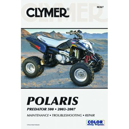 Predator 03-07 Revue technique Clymer POLARIS Anglais