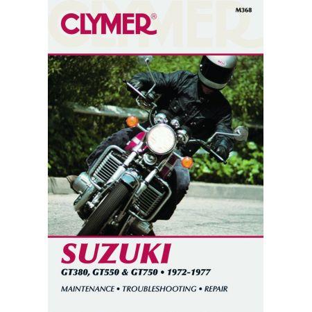 380-750cc Triples 72-77 Revue technique Clymer SUZUKI Anglais