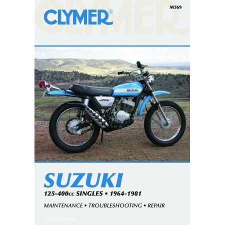 125-400cc Singles 64-81 Revue technique Clymer SUZUKI Anglais