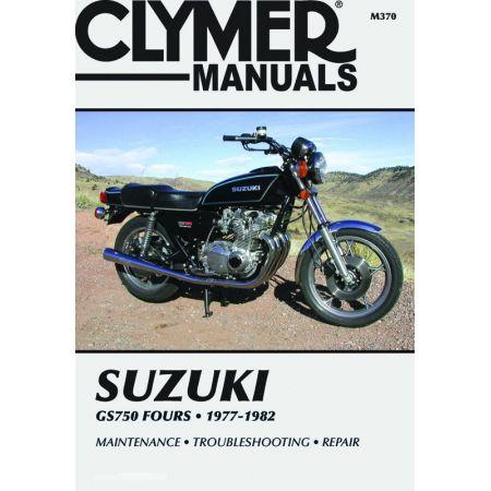 GS750 Fours 77-82 Revue technique Clymer SUZUKI Anglais