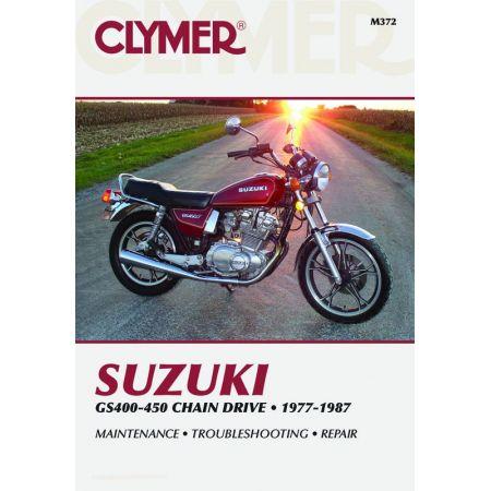 GS 400-450 Twins 77-87 Revue technique Clymer SUZUKI Anglais