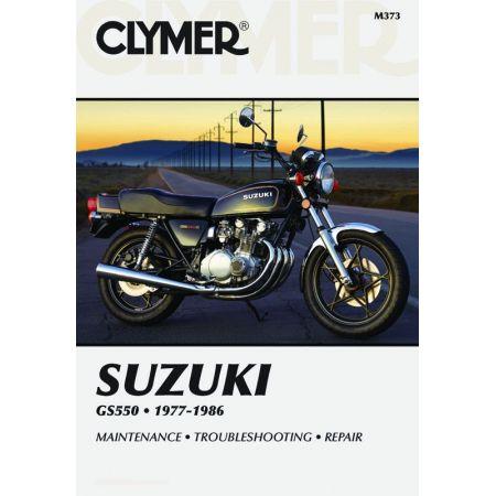 GS 550 77-86 Revue technique Clymer SUZUKI Anglais