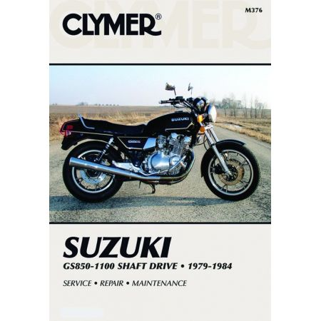 GS 850-1100 Shaft Drv 79-84 Revue technique Clymer SUZUKI Anglais