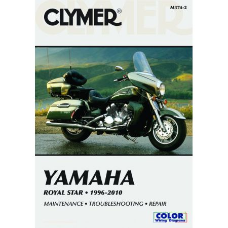 Royal Star 96-10 Revue technique Clymer YAMAHA Anglais