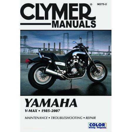 V-MAX 1200 85-07 Revue technique Clymer YAMAHA Anglais