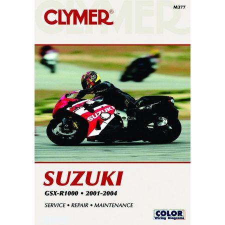 GSX-R 1000 01-04 Revue technique Clymer SUZUKI Anglais