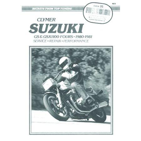 GS 1100 Fours 80-81 Revue technique Clymer SUZUKI Anglais