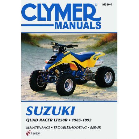 Quad Racer LT 250 R 85-92 Revue technique Clymer SUZUKI Anglais