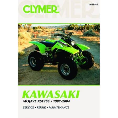 Mojave KSF 250 87-04 Revue technique Clymer KAWASAKI Anglais