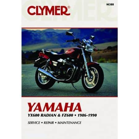 FZ600 86-88 - YX600 86-90 Revue technique Clymer YAMAHA Anglais