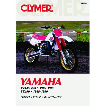 YZ 125-490 85-90 Revue technique Clymer YAMAHA Anglais