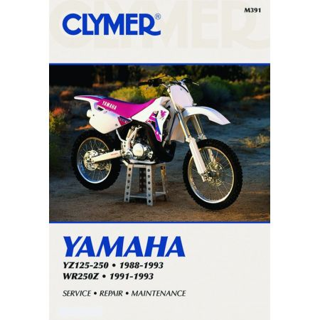 YZ 125-250 - WR 250 Z 88-93 Revue technique Clymer YAMAHA Anglais