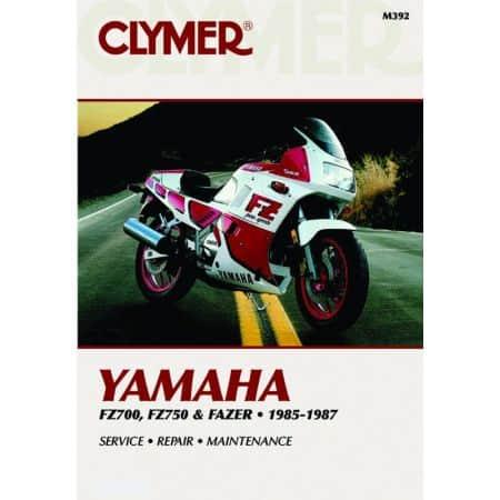 FZ 700 750 & Fazer 85-87 Revue technique Clymer YAMAHA Anglais