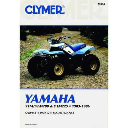YTM/YYFM200 & YTM225 83-86 Revue technique Clymer YAMAHA Anglais