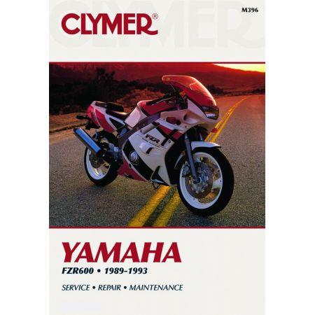 FZR600 89-93 Revue technique Clymer YAMAHA Anglais