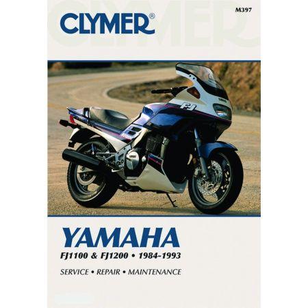 FJ1100 & FJ1200 84-93 Revue technique Clymer YAMAHA Anglais