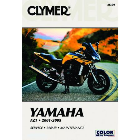 FZ-1 01-04 Revue technique Clymer YAMAHA Anglais