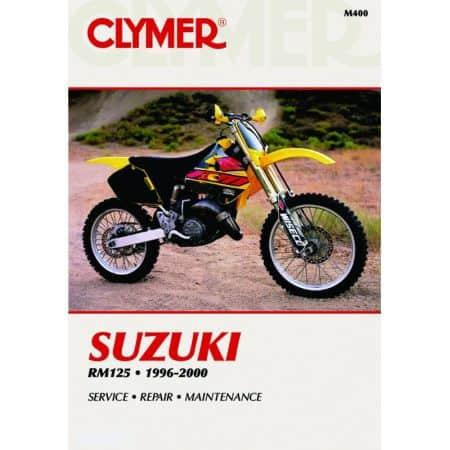 RM 125 96-00 Revue technique Clymer SUZUKI Anglais