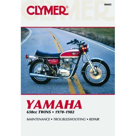 650cc Twins 70-82 Revue technique Clymer YAMAHA Anglais