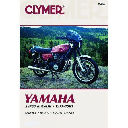 XS750 & 850 Triples 77-81 Revue technique Clymer YAMAHA Anglais