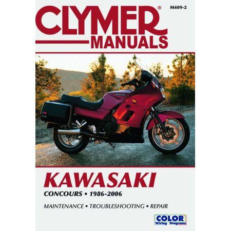 ZG1000 Concours 86-06 Revue technique Clymer KAWASAKI Anglais