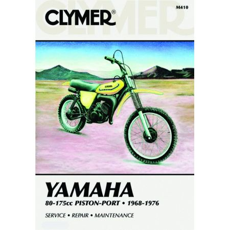80-175cc Piston-Port 68-76 Revue technique Clymer YAMAHA Anglais