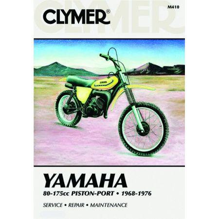 80-175cc Piston-Port 68-76 Revue technique Clymer YAMAHA Anglais