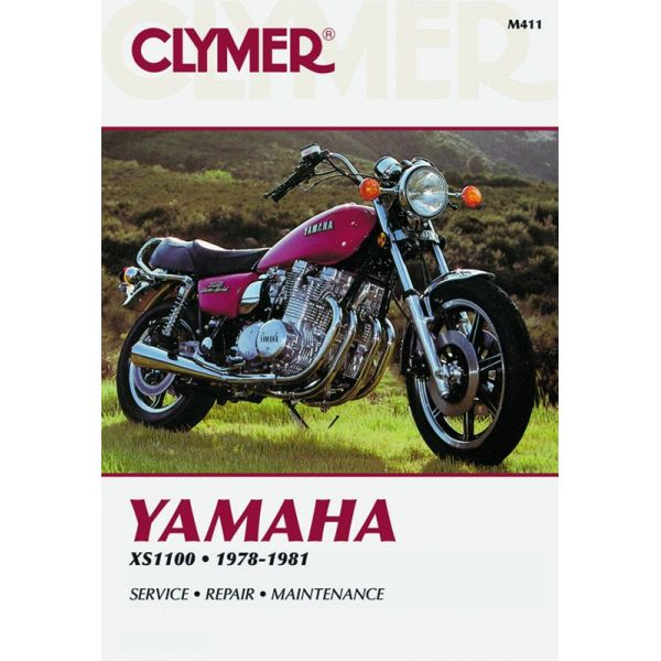 yamaha xs 1100 fours 1978 1981 rclym411 revue technique haynes clymer anglais. Black Bedroom Furniture Sets. Home Design Ideas