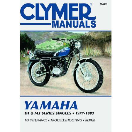 DT & MX Series Singles 77-83 Revue technique Clymer YAMAHA Anglais