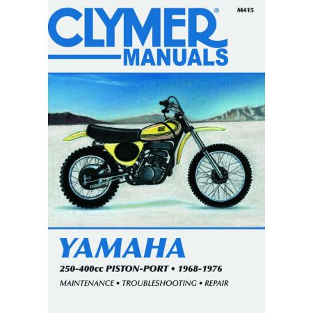 250-400cc Pstn-Port 68-76 Revue technique Clymer YAMAHA Anglais