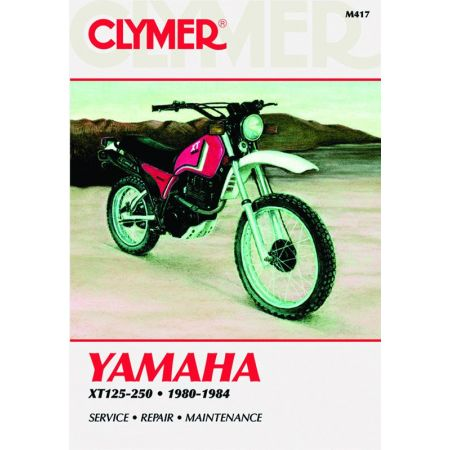 XT 125-250 80-84 Revue technique Clymer YAMAHA Anglais