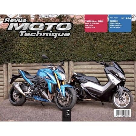 NMax Ocito GSX-S Revue Technique Moto SUZUKI Yamaha