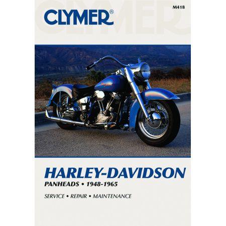 PANHEADS 48-65 Revue technique Clymer HARLEY Anglais