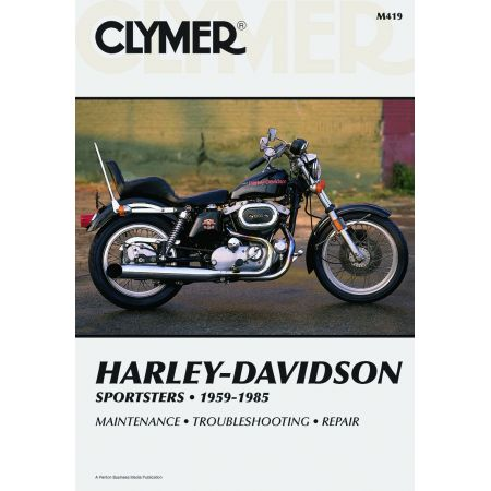 SPORTSTERS 59-85 Revue technique Clymer HARLEY Anglais