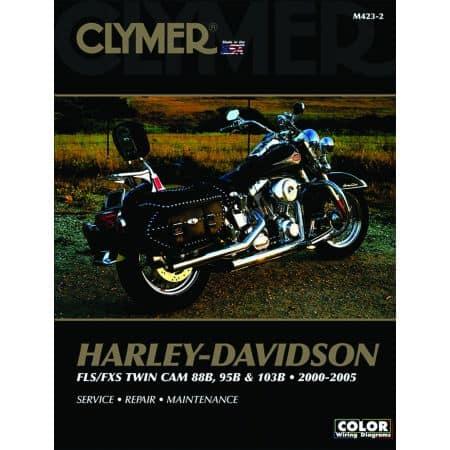 FLS/FXS Twin Cam, 88B 95B 103B 00-05 Revue technique Clymer HARLEY Anglais