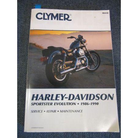 Sportster Evolution 86-87 Revue technique Clymer HARLEY Anglais