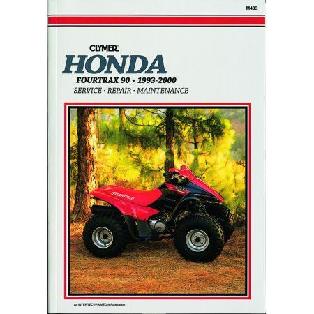 4-TRAX 90 ATV 93-00 Revue technique Clymer HONDA Anglais