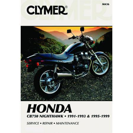 CB750 NIGHTHAWK 95-99 Revue technique Clymer HONDA Anglais
