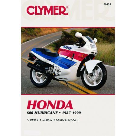 600 HURRICANE 87-90 Revue technique Clymer HONDA Anglais