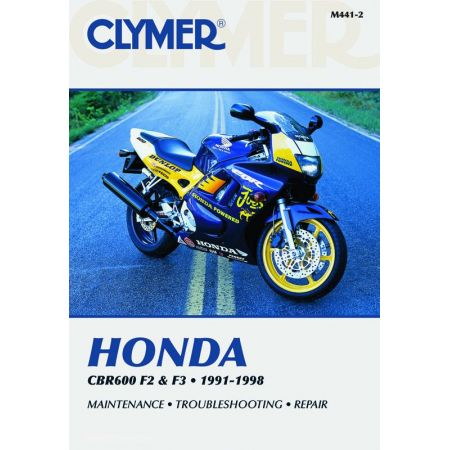 CBR F2 and F3 91-98 Revue technique Clymer HONDA Anglais