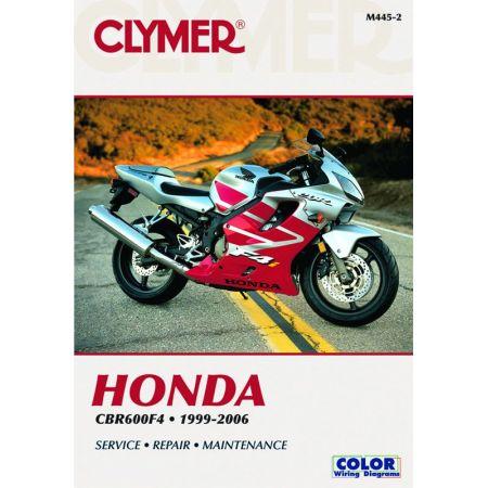 CBR 600 F4 99-06 Revue technique Clymer HONDA Anglais